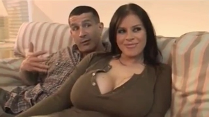 Large boobs chick has a thing for rough nailing HD