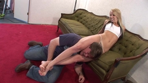 Big butt babe torture HD