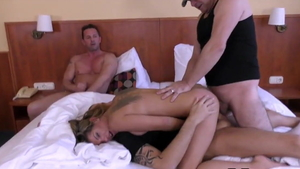 Foursome at the audition