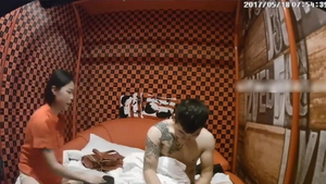 Voyeur chinese doggy style in hotel