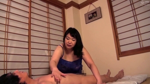 Japanese in stockings massage in HD