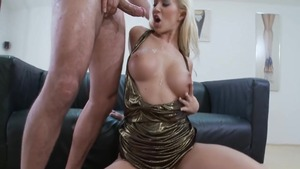 Large boobs czech blonde Cindy Dollar likes nailing HD