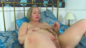 British Toni Lace bends over