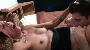Smoking in company with american MILF