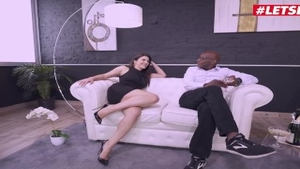 Real fucking in company with gorgeous italian brunette