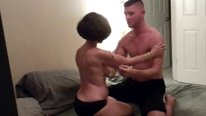 Homemade raw fucking along with young amateur
