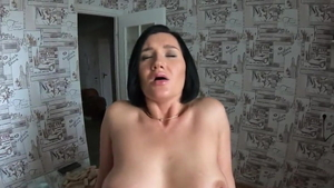 Large boobs MILF POV pussy fucking undressing HD
