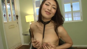 Japanese Reiko Kobayakawa playing with toys