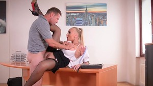 Aletta Ocean is really busty secretary