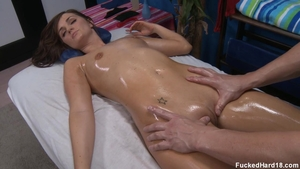Skinny teen Lily Carter goes in for sex scene