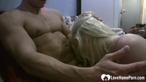 Tight and wet girl rough cock sucking