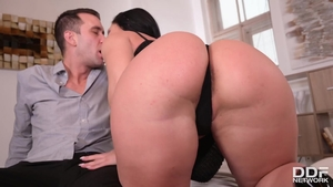 Beautiful mature Honey Demon helps with rough sex