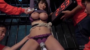 Hard ramming along with large boobs asian MILF