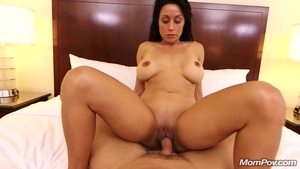 Too cute MILF POV cumshot at the castings
