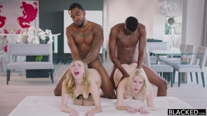 Orgy with young babe Cadence Lux
