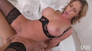 Eva Notty rides a hard dick