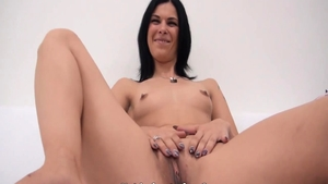 Blowjob at the casting in HD