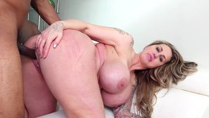 Rough gagging escorted by large tits blonde hair Ryan Conner
