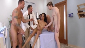 Ramming hard with erotic ebony amateur Julie Kay
