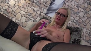 Hard sex together with dirty german mature