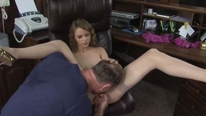 Teen chick plowed by big cock stranger