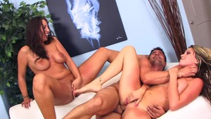 Big boobs Courtney Cummz wishes for group sex