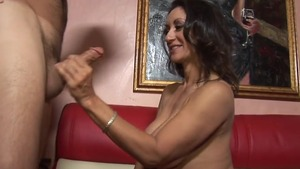 Persian Persia Monir cunnilingus on the couch HD