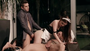 Misha Cross got her pussy pounded