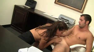 Rilynn Rae fucked all the way in office