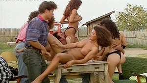 Orgy in the country