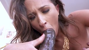 Very hawt Ashley Adams babe interracial sex sex tape