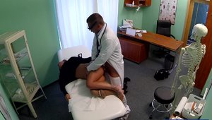 Tattooed doctor has a taste for pussy sex