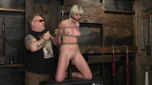 BDSM accompanied by blonde babe Marie Mccray