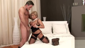 Big tits pornstar Lucy Love goes in for slamming hard