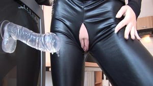 Teen chick Cayenne Klein loves slamming hard in latex