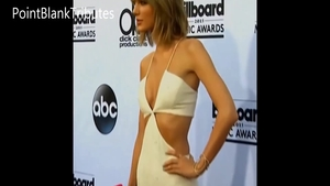 Nailing accompanied by super sexy celebrity Taylor Swift