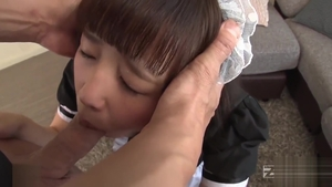 Very cute japanese teen raw gets a good fucking